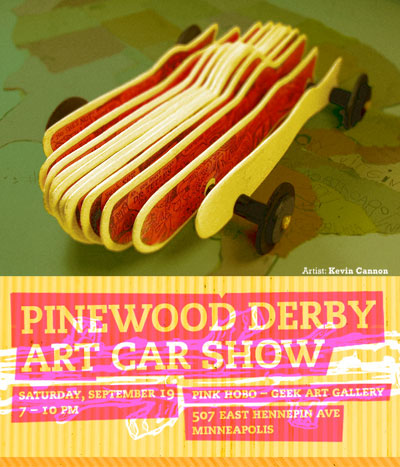 Pink Hobo Pinewood Derby Show
