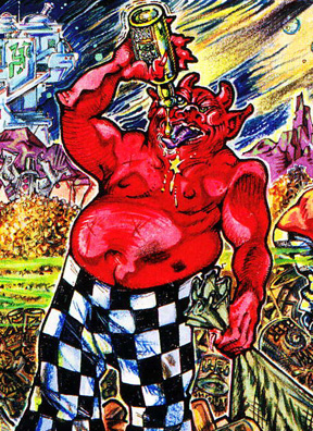 S. Clay Wilson's Checkered Demon
