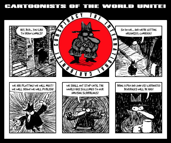CARTOONISTS OF THE WORLD UNITE!